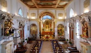 Notranjost cerkve sv. Jurija