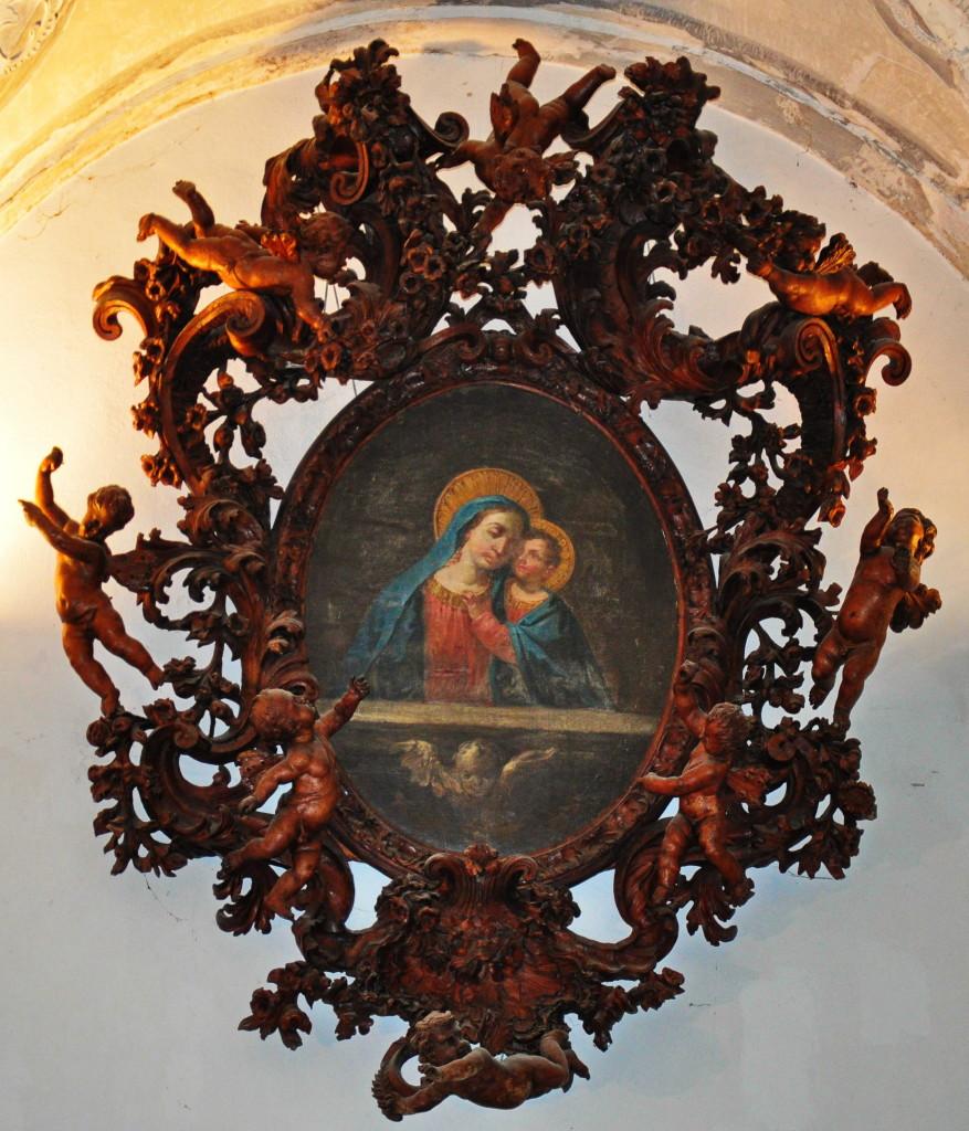 Brustolonov okvir - Marija dobrega sveta