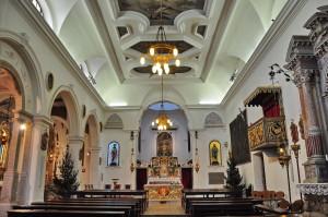 Notranjost cerkve sv. Frančiška