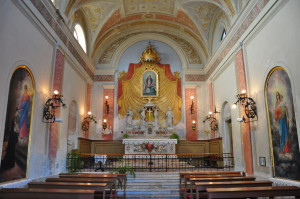 Notranjost cerkve sv.Petra