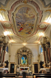 Notranjost sv. Štefana