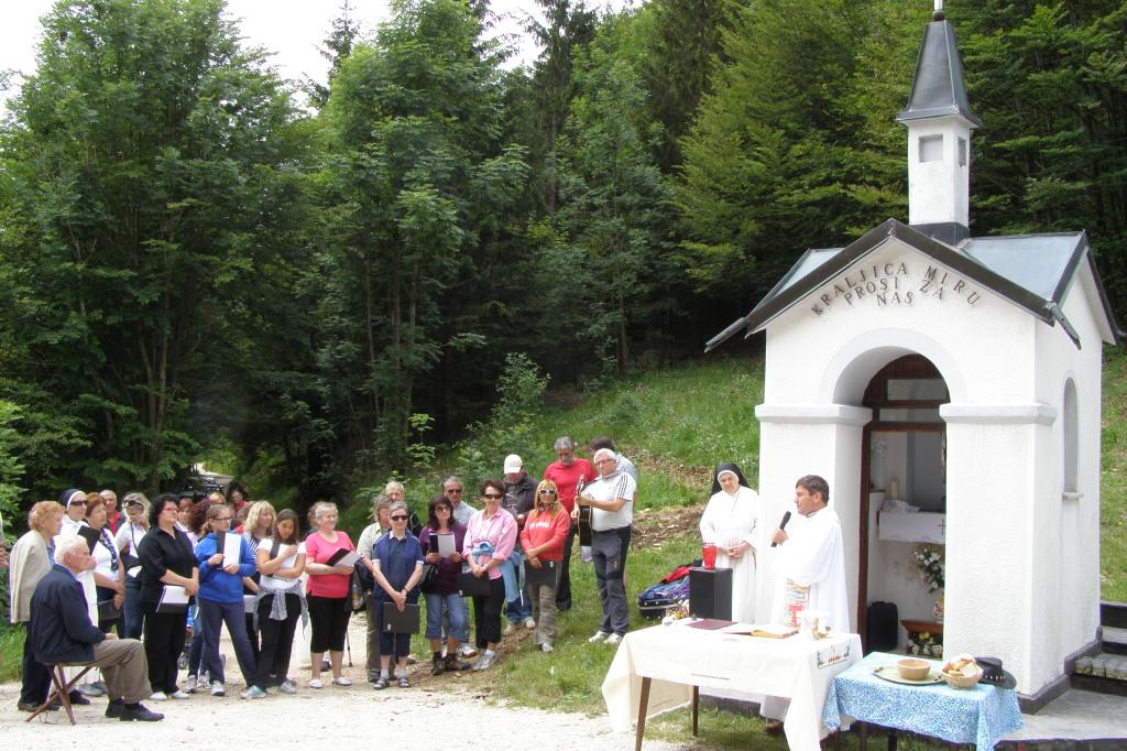 Župnijski MePZ Georgios ob kapelici
